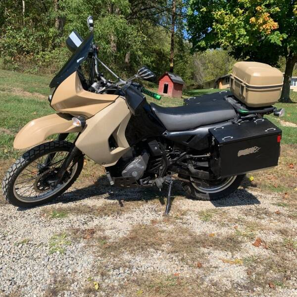 2009 Kawasaki KLR 650 for sale at Martin Auto Sales in West Alexander PA