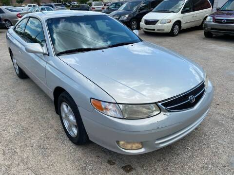 2000 Toyota Camry Solara for sale at Cash Car Outlet in Mckinney TX