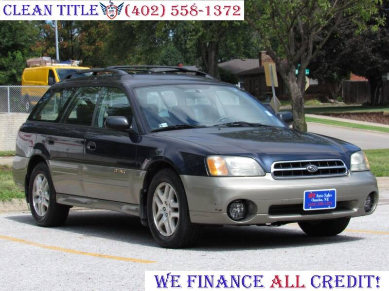 2002 Subaru Outback for sale at NY AUTO SALES in Omaha NE