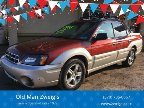2003 Subaru Baja for sale at Old Man Zweig's in Plymouth Township PA