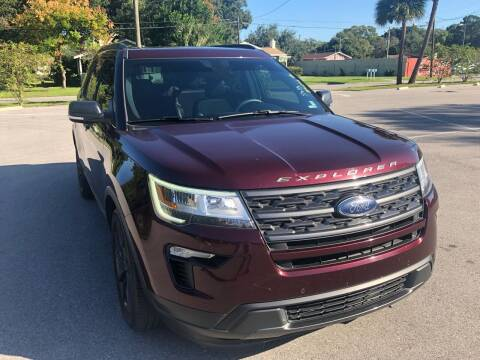 2018 Ford Explorer for sale at Consumer Auto Credit in Tampa FL