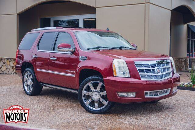 2008 Cadillac Escalade for sale at Mcandrew Motors in Arlington TX