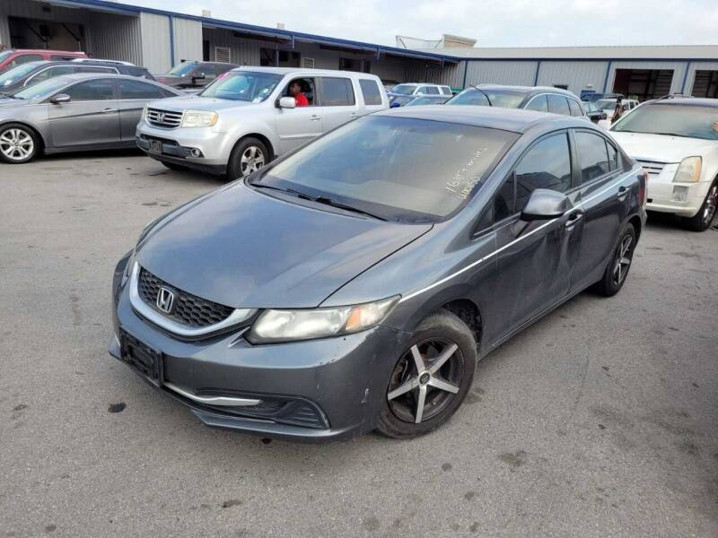 2013 Honda Civic for sale at Don Auto World in Houston TX