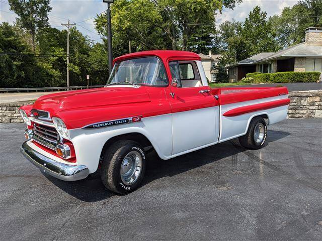 1959 Chevrolet Apache for sale at GAHANNA AUTO SALES in Gahanna OH