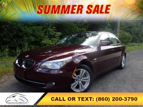 2009 BMW 5 Series for sale at EAGLEVILLE MOTORS LLC in Storrs Mansfield CT
