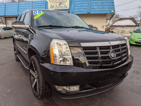 2008 Cadillac Escalade for sale at GREAT DEALS ON WHEELS in Michigan City IN