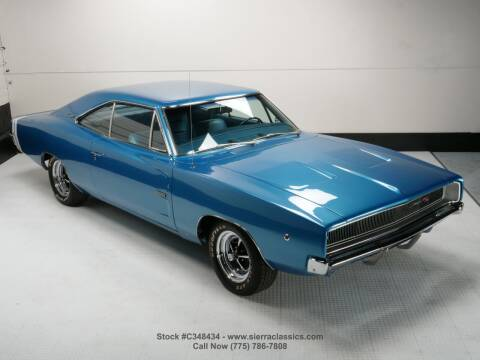 1968 Dodge Charger for sale at Sierra Classics & Imports in Reno NV