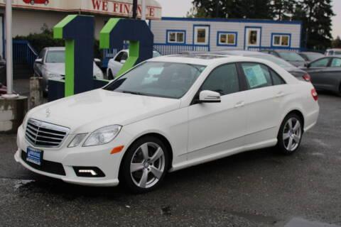 2011 Mercedes-Benz E-Class for sale at BAYSIDE AUTO SALES in Everett WA
