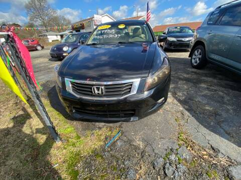 2010 Honda Accord for sale at L&M Auto Import in Gastonia NC