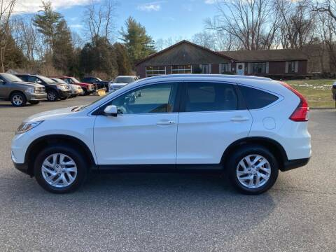 2016 Honda CR-V for sale at Lou Rivers Used Cars in Palmer MA