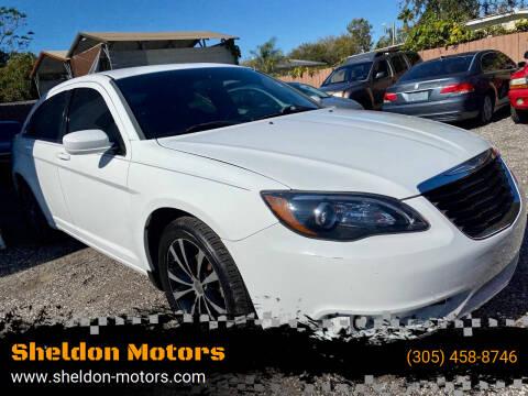 2014 Chrysler 200 for sale at Sheldon Motors in Tampa FL
