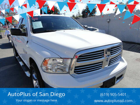 2016 RAM Ram Pickup 1500 for sale at AutoPlus of San Diego in Spring Valley CA