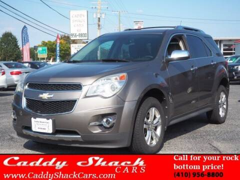 2012 Chevrolet Equinox for sale at CADDY SHACK CARS in Edgewater MD
