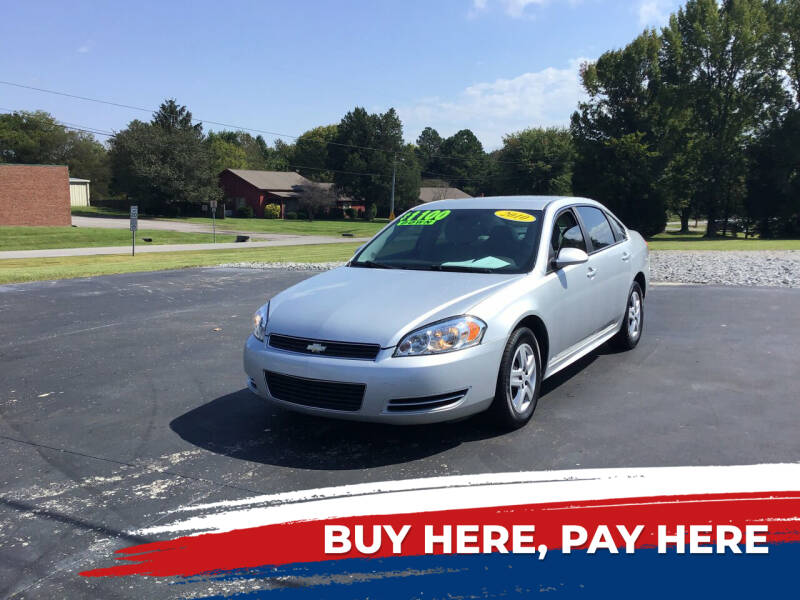 2010 Chevrolet Impala for sale at Choice Auto Sales LLC - Buy Here Pay Here in White House TN