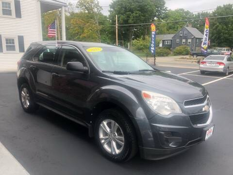 2011 Chevrolet Equinox for sale at 5 Corner Auto Sales Inc. in Brockton MA