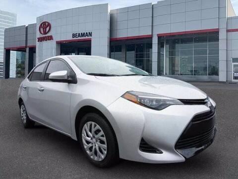 2018 Toyota Corolla for sale at BEAMAN TOYOTA in Nashville TN