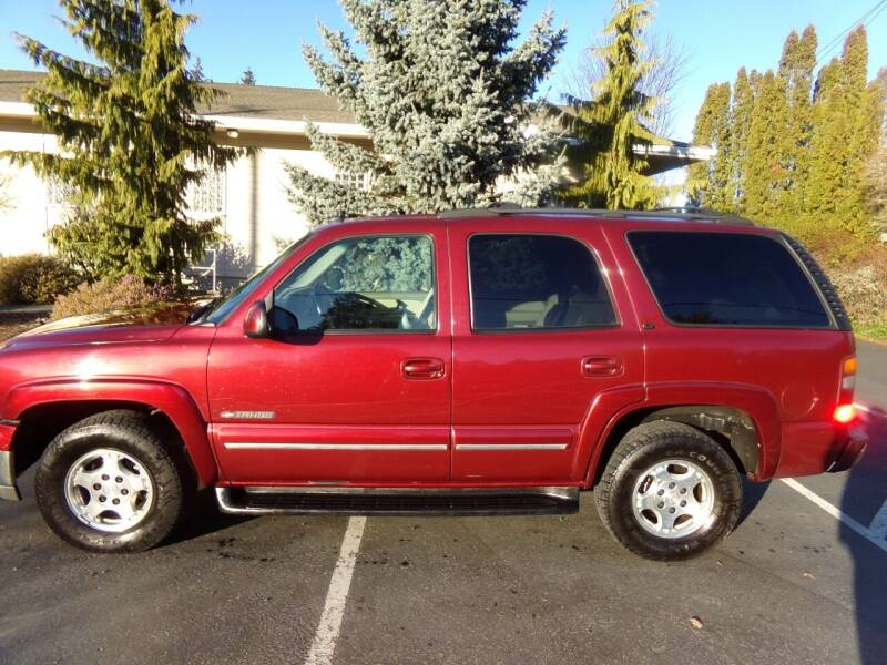 2002 Chevrolet Tahoe for sale at Signature Auto Sales in Bremerton WA