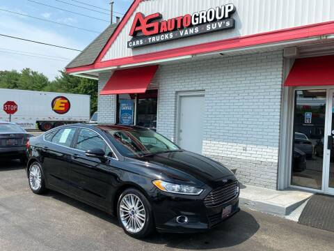 2016 Ford Fusion for sale at AG AUTOGROUP in Vineland NJ