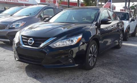 2017 Nissan Altima for sale at Barbie's Autos Corp in Miami FL