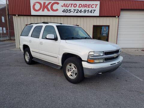 2005 Chevrolet Tahoe for sale at OKC Auto Direct in Oklahoma City OK