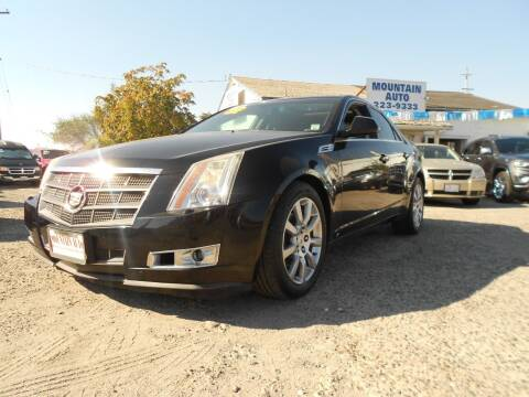 2008 Cadillac CTS for sale at Mountain Auto in Jackson CA