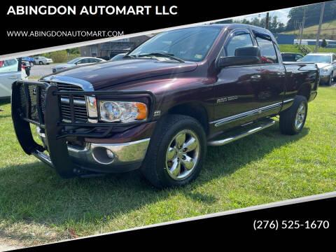 2005 Dodge Ram Pickup 1500 for sale at ABINGDON AUTOMART LLC in Abingdon VA