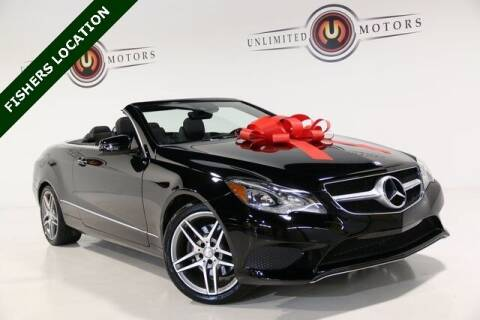 2014 Mercedes-Benz E-Class for sale at Unlimited Motors in Fishers IN