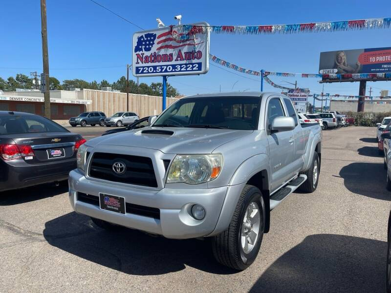 2008 Toyota Tacoma for sale at Nations Auto Inc. II in Denver CO