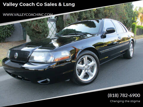 2003 Mercury Marauder for sale at Valley Coach Co Sales & Lsng in Van Nuys CA