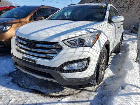 2013 Hyundai Santa Fe Sport for sale at MIDWEST CAR SEARCH in Fridley MN
