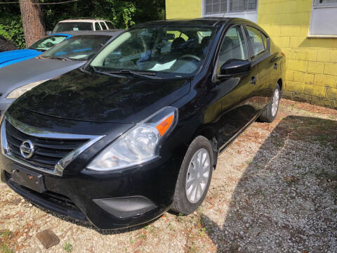 2016 Nissan Versa for sale at Windsor Auto Sales in Charleston SC