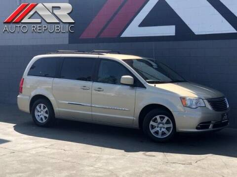 2011 Chrysler Town and Country for sale at Auto Republic Fullerton in Fullerton CA