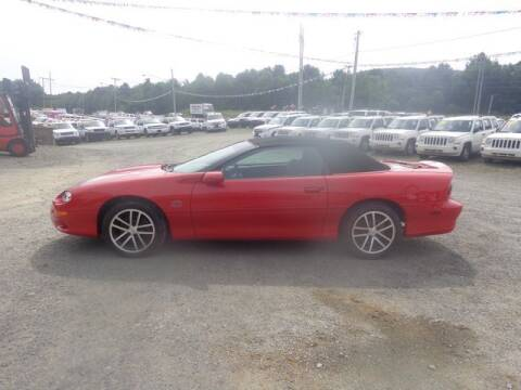 2002 Chevrolet Camaro for sale at Upstate Auto Sales Inc. in Pittstown NY
