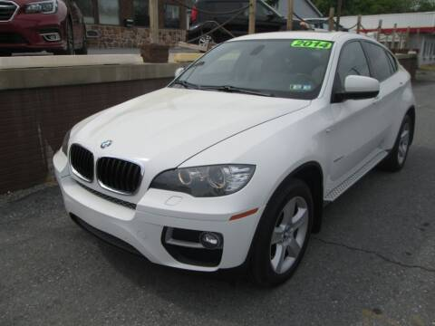 2014 BMW X6 for sale at WORKMAN AUTO INC in Pleasant Gap PA