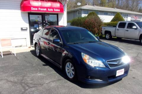 2011 Subaru Legacy for sale at Dave Franek Automotive in Wantage NJ