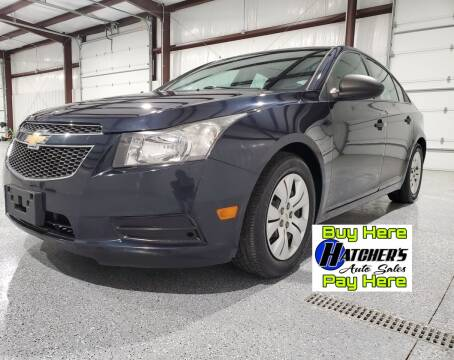 2014 Chevrolet Cruze for sale at Hatcher's Auto Sales, LLC - Buy Here Pay Here in Campbellsville KY