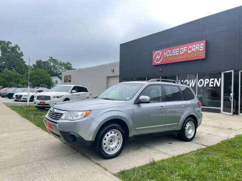2009 Subaru Forester for sale at HOUSE OF CARS CT in Meriden CT