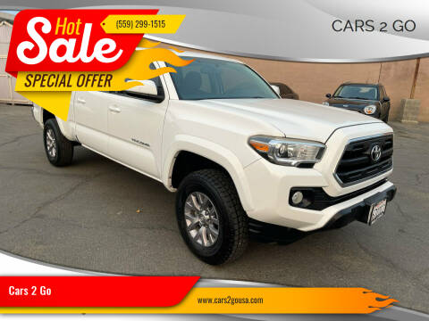 2017 Toyota Tacoma for sale at Cars 2 Go in Clovis CA