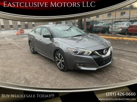 2017 Nissan Maxima for sale at Eastclusive Motors LLC in Hasbrouck Heights NJ