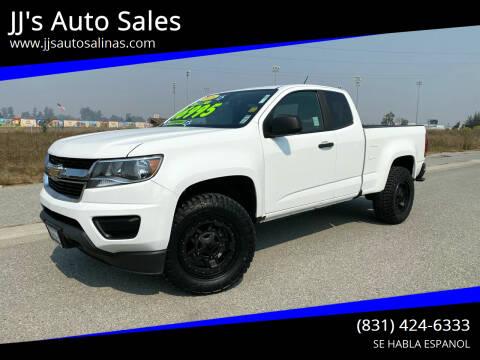 2016 Chevrolet Colorado for sale at JJ's Auto Sales in Salinas CA