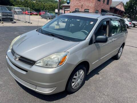 2005 Toyota Sienna for sale at KINGSTON AUTO SALES in Wakefield RI
