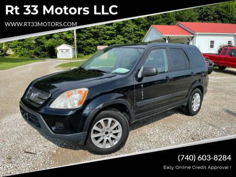 2006 Honda CR-V for sale at Rt 33 Motors LLC in Rockbridge OH