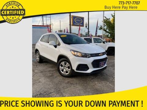 2017 Chevrolet Trax for sale at AutoBank in Chicago IL
