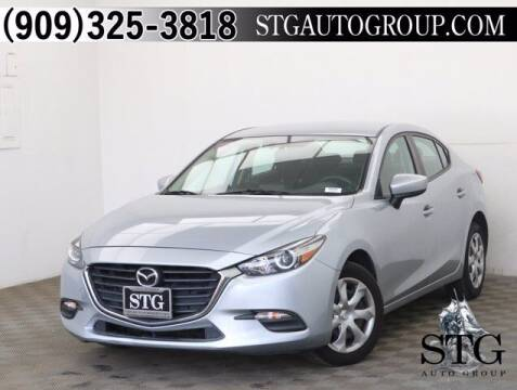 2017 Mazda MAZDA3 for sale at STG Auto Group in Montclair CA