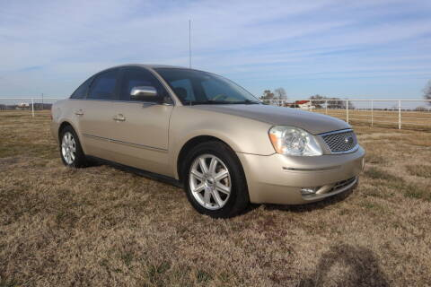 2005 Ford Five Hundred for sale at Liberty Truck Sales in Mounds OK