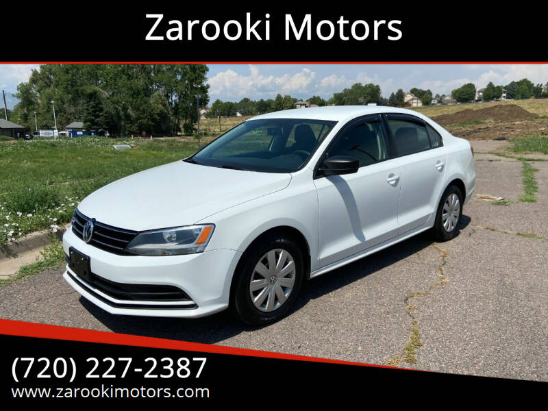 2016 Volkswagen Jetta for sale at Zarooki Motors in Englewood CO