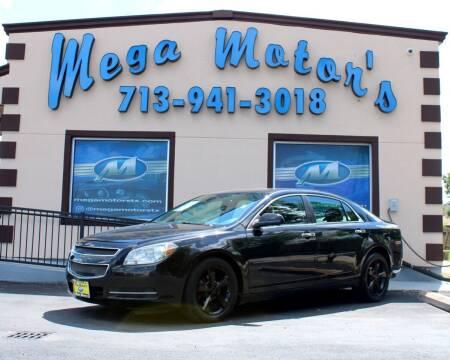 2012 Chevrolet Malibu for sale at MEGA MOTORS in South Houston TX