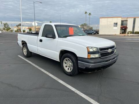 2007 Chevrolet Silverado 1500 Classic for sale at EV Auto Sales LLC in Sun City AZ