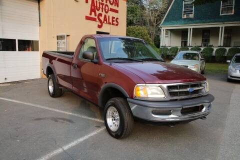 1997 Ford F-150 for sale at FENTON AUTO SALES in Westfield MA
