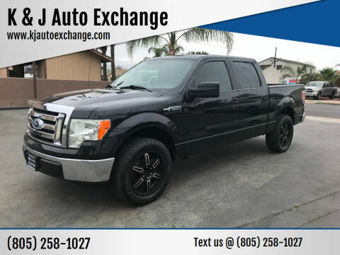 2010 Ford F-150 for sale at K & J Auto Exchange in Santa Paula CA